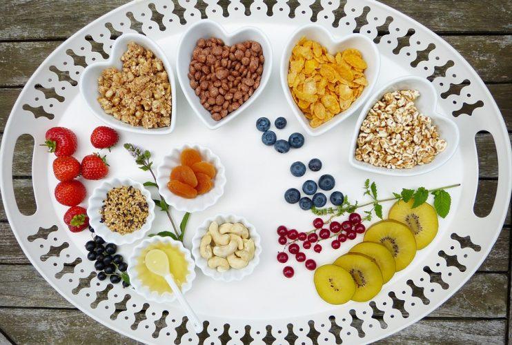 Les aliments végétariens
